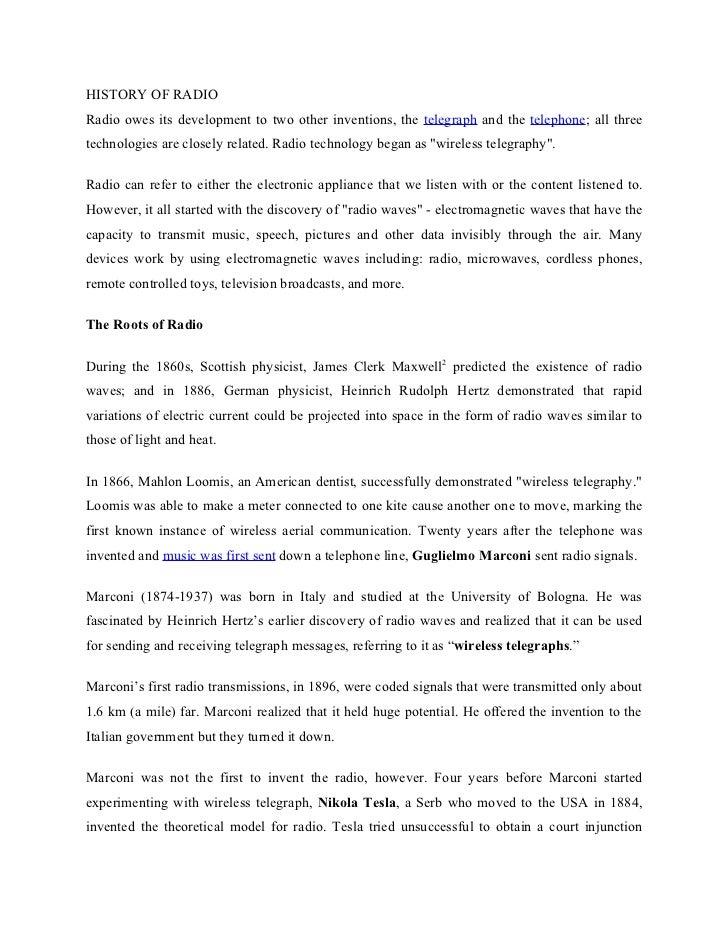 EC - Indian radio industry