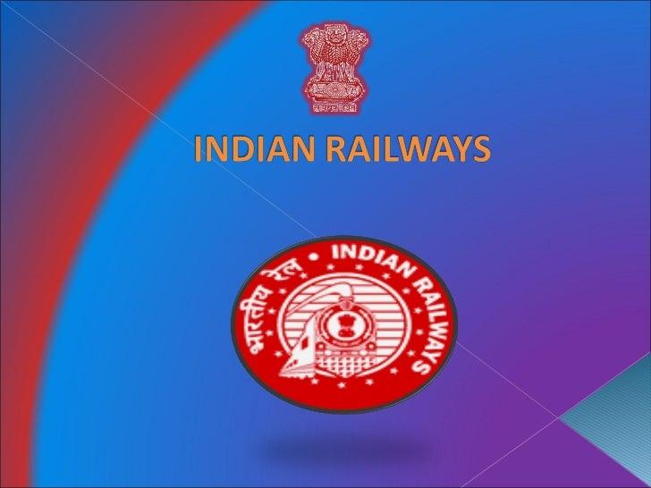 Indian Railways ppt.