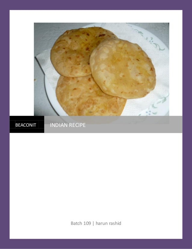 Indian recipe for Awadhi cuisine book