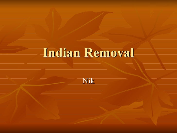 Indianremoval