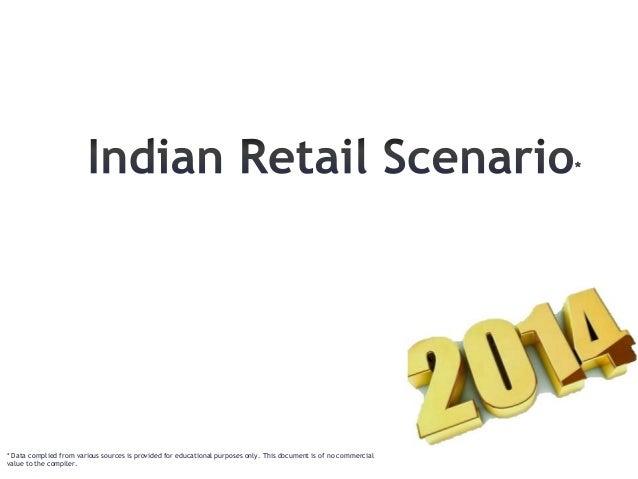 Indian retail landscape 2014