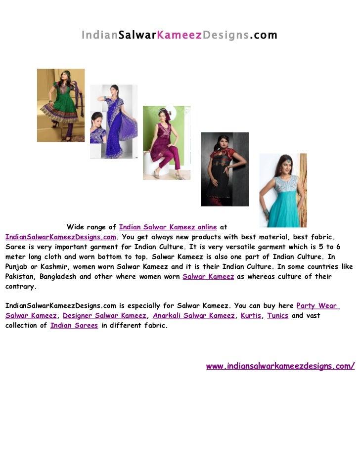 IndianSalwarKameezDesigns.com                  Wide range of Indian Salwar Kameez online atIndianSalwarKameezDesigns.com. ...