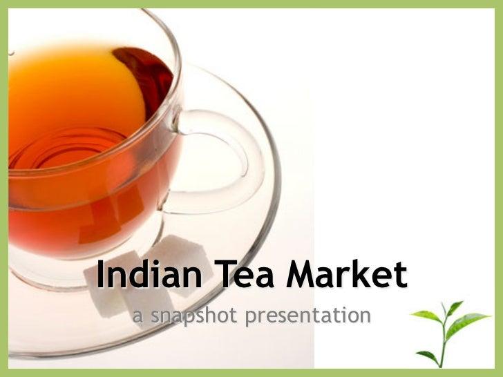 INDIAN TEA MARKET