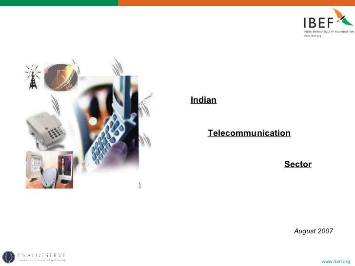 Indian telecom sector_301008