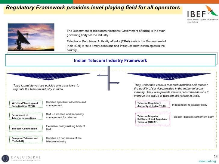 Framework of Indian Government Industry Framework Indian