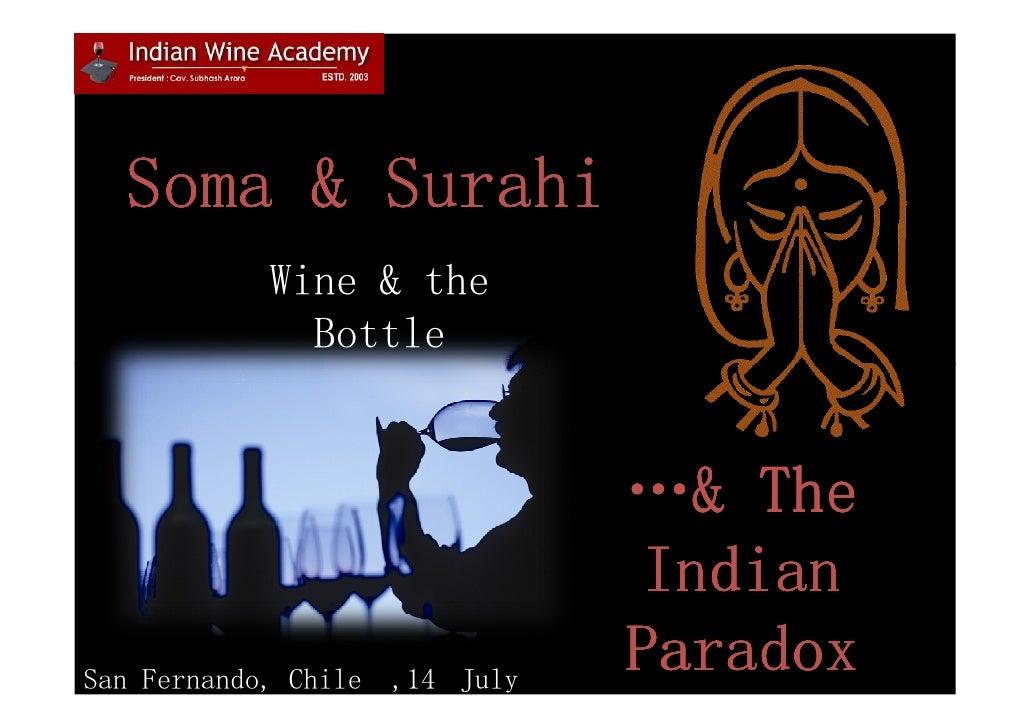 Indian wine consumption