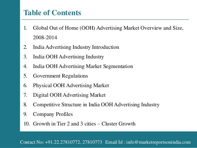 India Advertisement 2014 India Advertising Industry