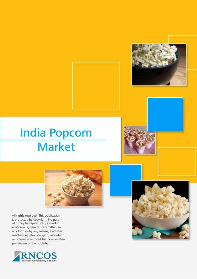 India Popcorn Market - Jan'14