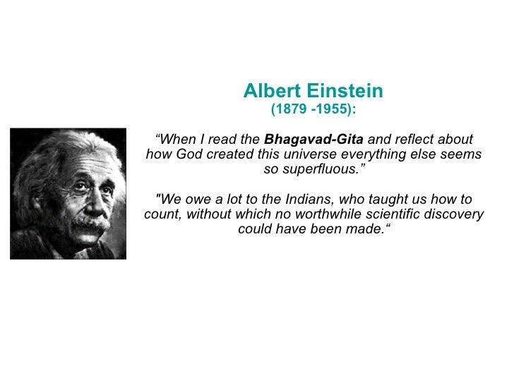 Einstein Essay