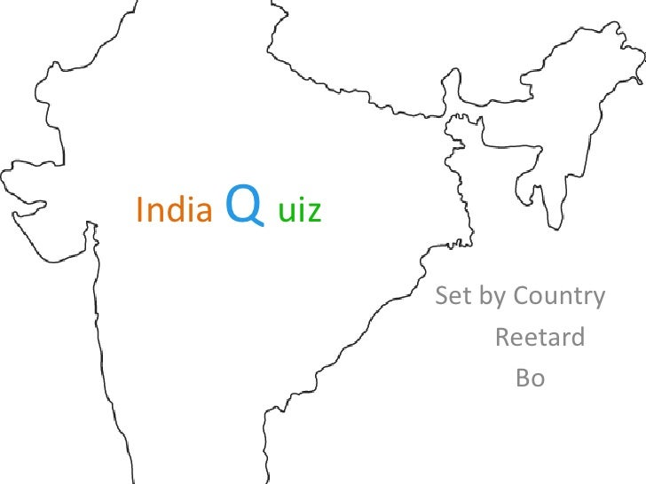 India Quiz NITT - Festember '11 Prelims with answers