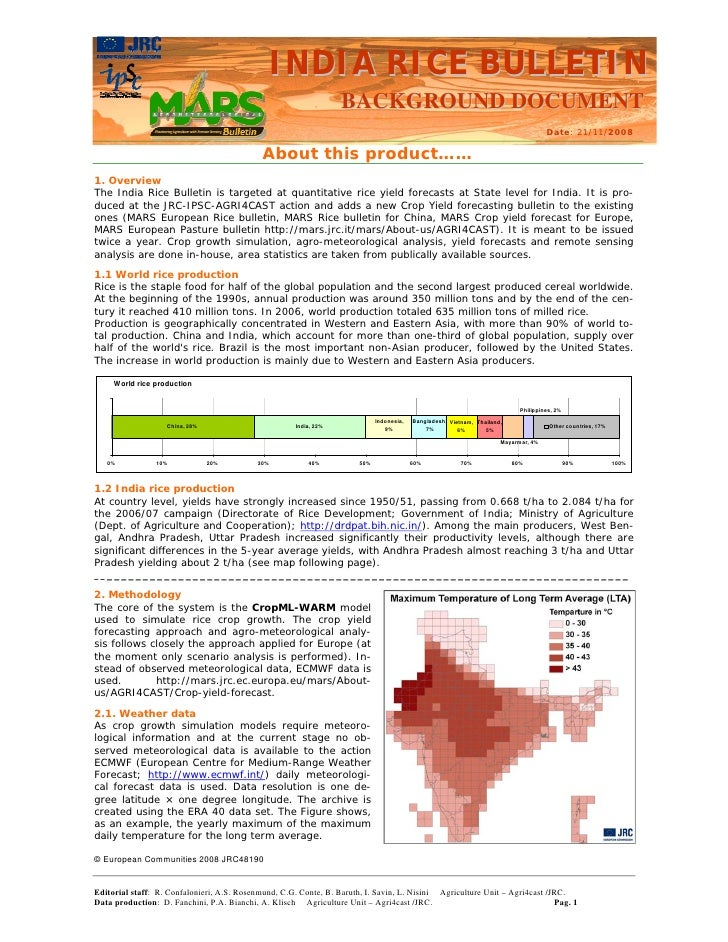 India rice bull background