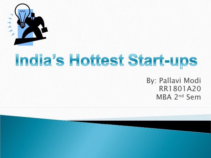 By: Pallavi Modi RR1801A20 MBA 2 nd  Sem