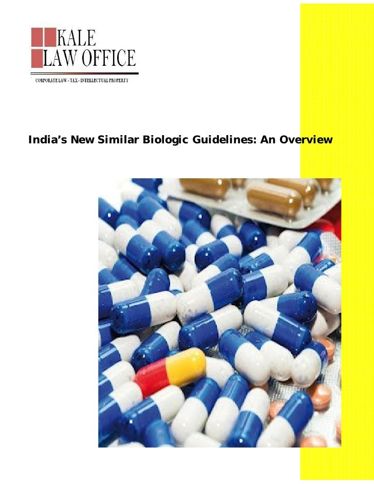 India's new similar biologic guidelines an overview