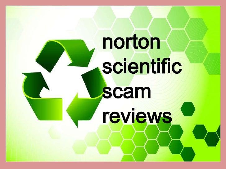 nortonscientificscamreviews