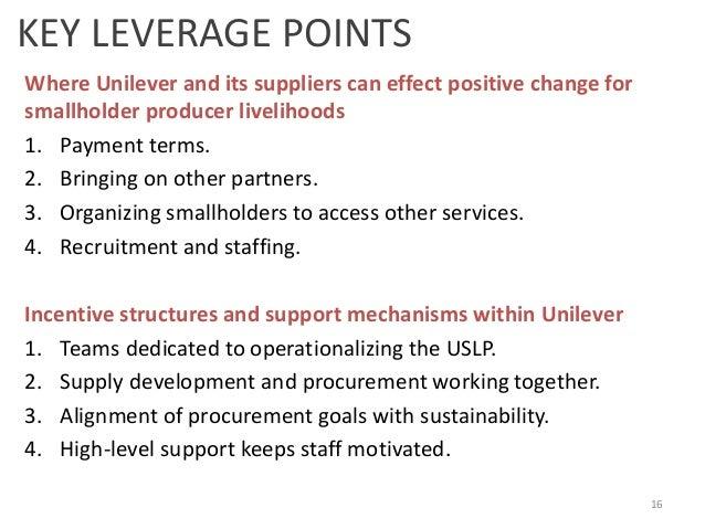 Unilever in india case study harvard