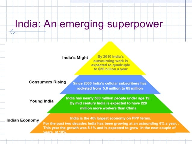 india as a superpower Ramachandra guha argues that india should not attempt to become a  superpower.
