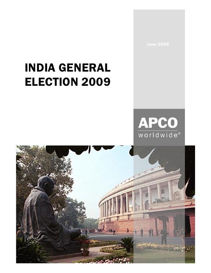 India Verdict 2009