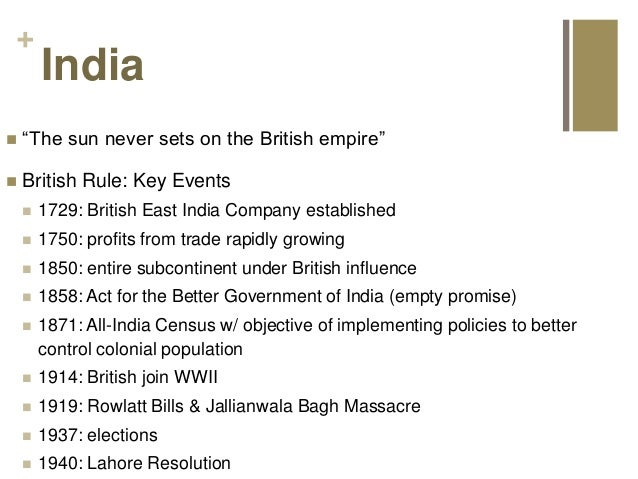 the impact of british imperialism on india Economic impact of the british rule in india the process of industrial regeneration did not start in india, because of british imperialism.