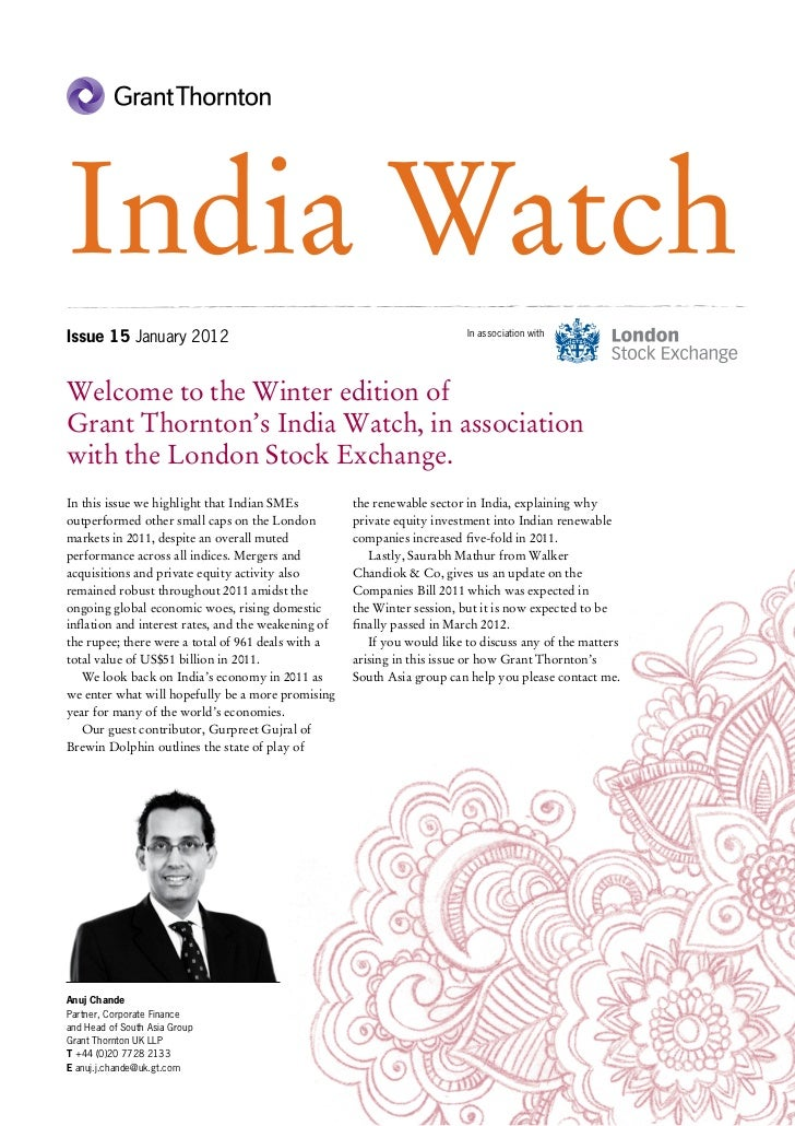 India WatchIssue 15 January 2012                                                     In association withWelcome to the Win...