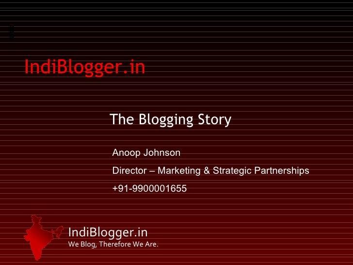 Indi Blogger   Prcai Official