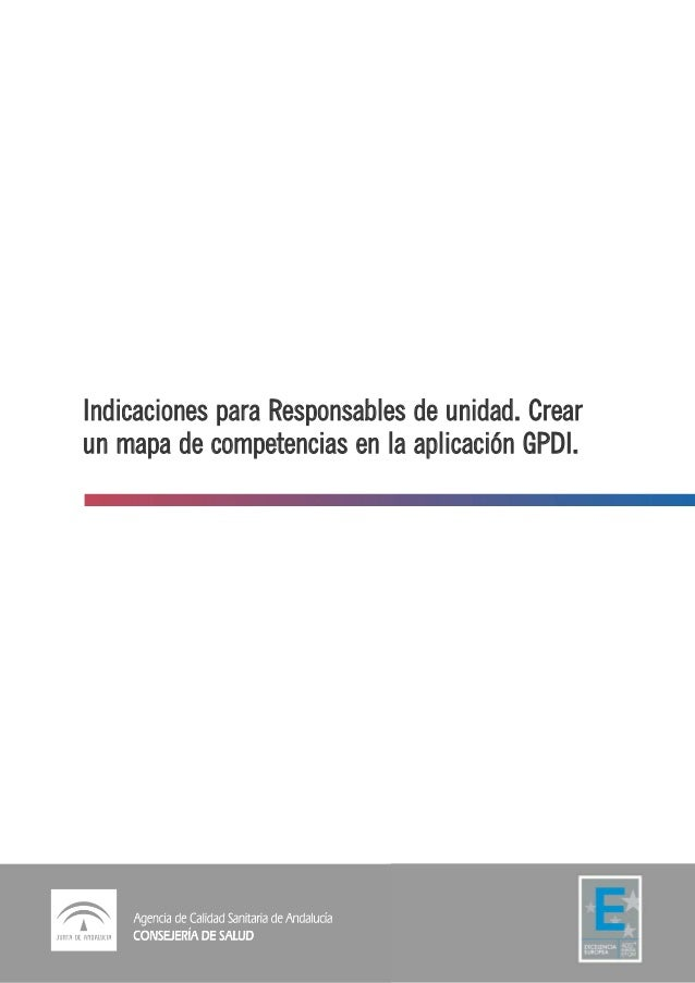Indicaciones para la configuración mapa tipo