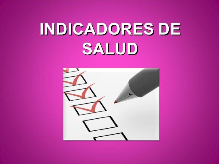 Indicadores hospitalarios 2012