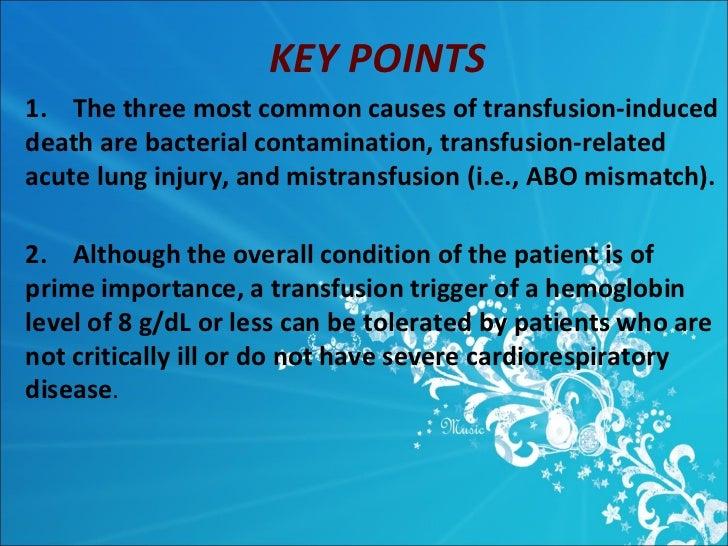 massive blood transfusion complications pdf