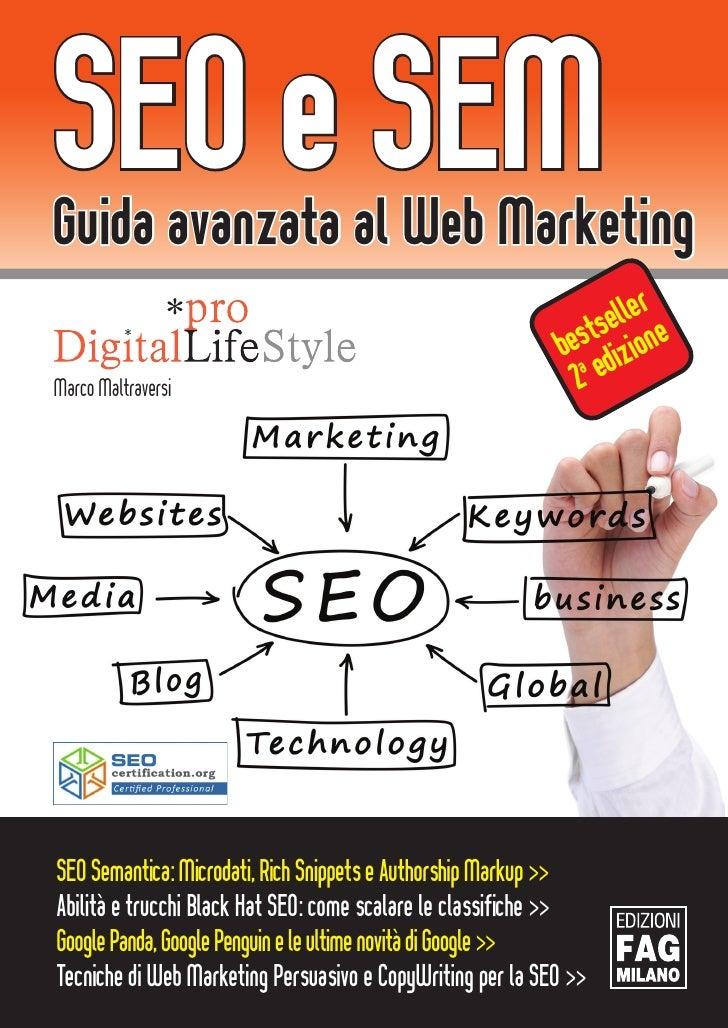 SEO e SEMGuida avanzata al Web Marketing                                                                  eller e         ...