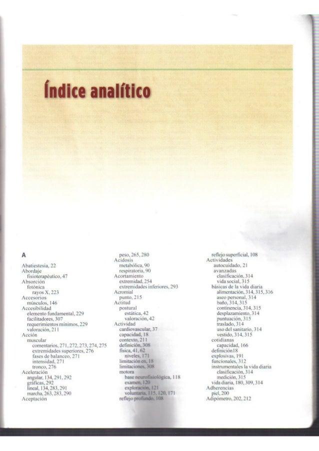 Indice alfabetico o analitico