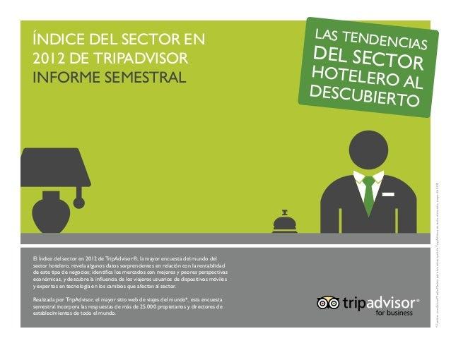 Indice do Sector em 2012 (Espanhol)