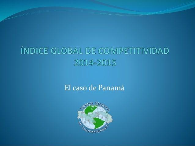 El caso de Panamá