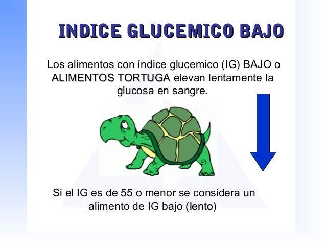 Indice glucemico - Alimentos bajos en glucosa ...