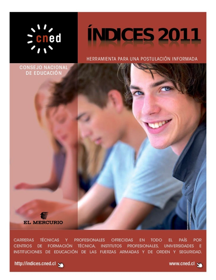 ÍNDICES 2011                            1102 SECIDNÍ                            herramienta para una postulación informada...