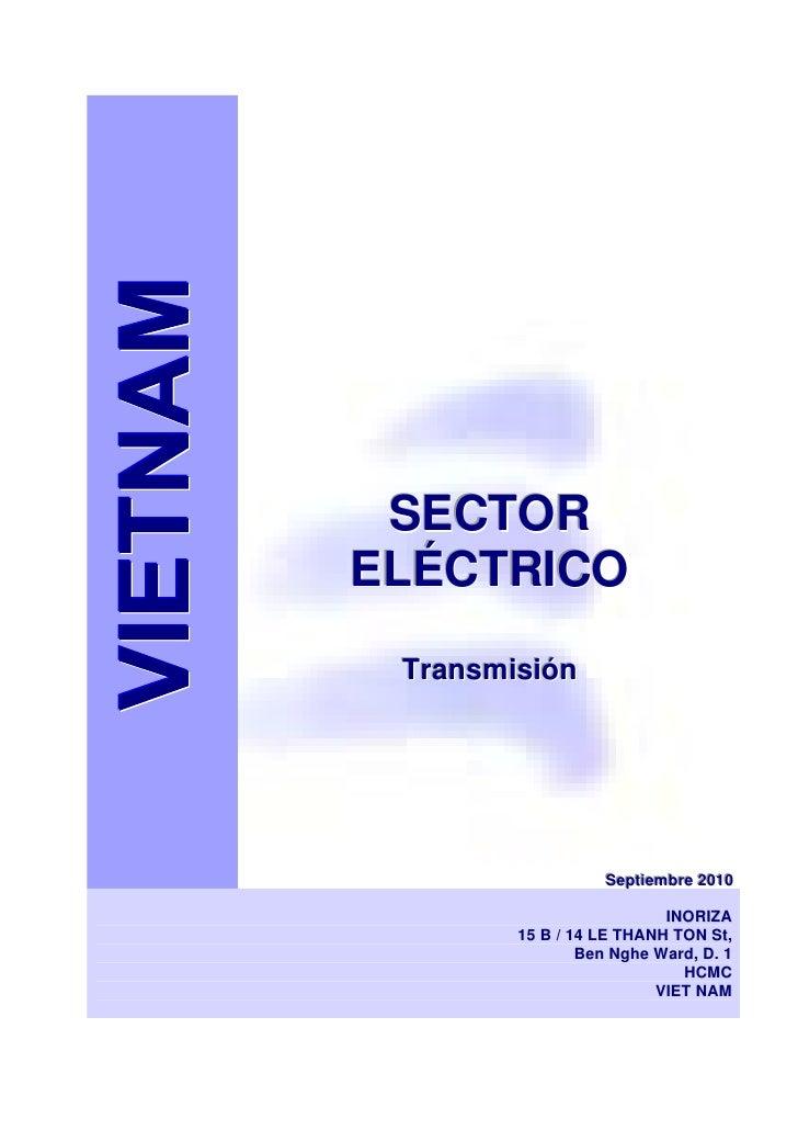 VIETNAM Indice estudio transmisión eléctrica 2010 Juan Inoriza