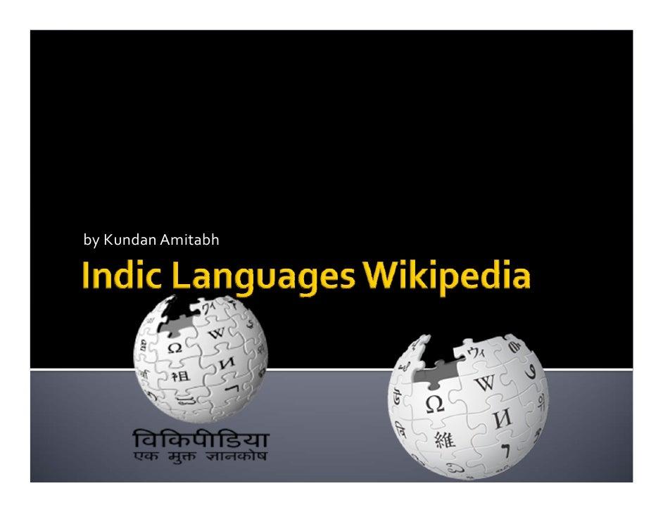 Indic Languages Wikipedia
