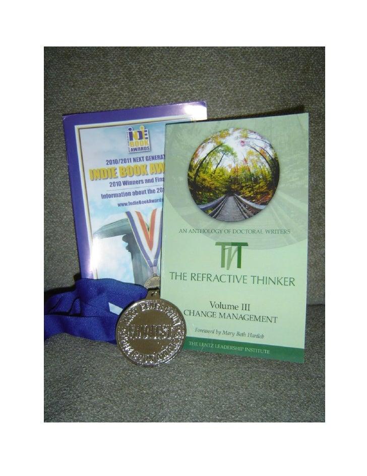 2010 Indie Book Awards Finalist