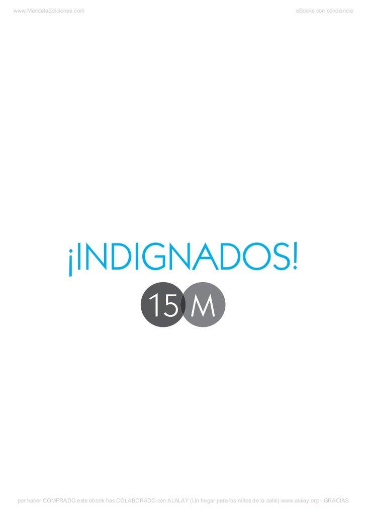¡Indignados! 15M, por Fernando Cabal