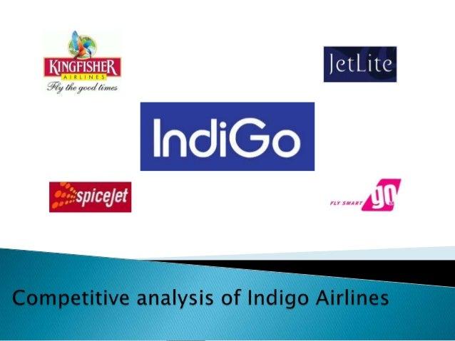 Indigo competitive analysis