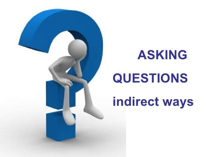 Indirect questions