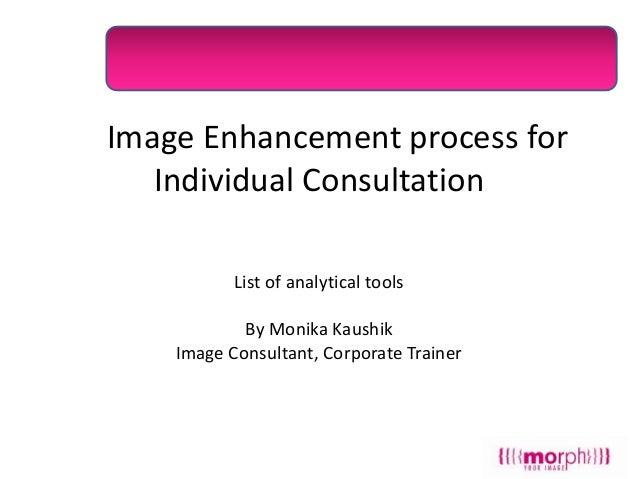 Individual consultations process