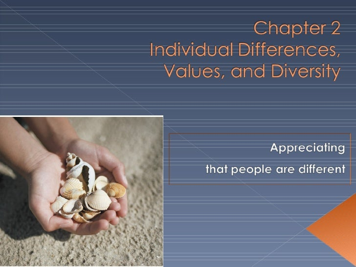 Individual differences determine our preferred behaviors.By studying and understanding these tendencies, OB can  more accu...