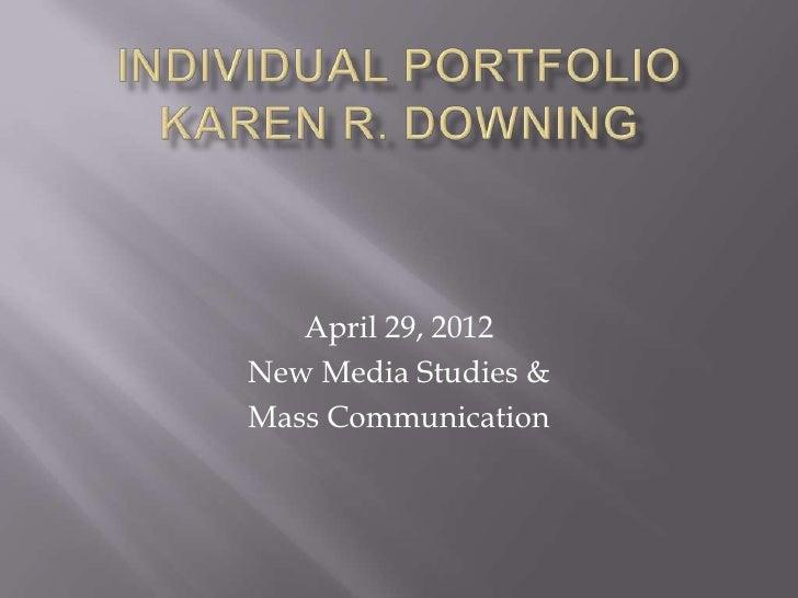 Individual portfolio