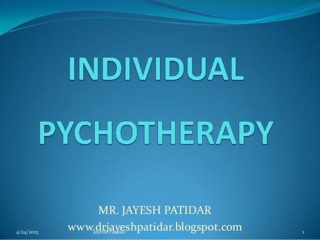 MR. JAYESH PATIDARwww.drjayeshpatidar.blogspot.com4/24/2013 1Jayesh Patidar