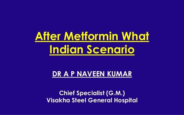 After Metformin What- Indian Scenario