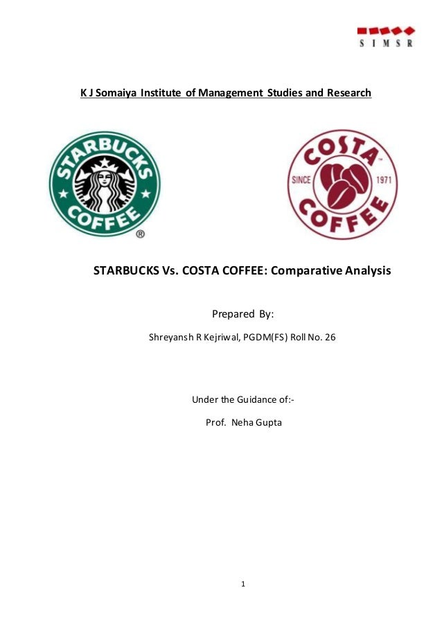 Starbucks research paper