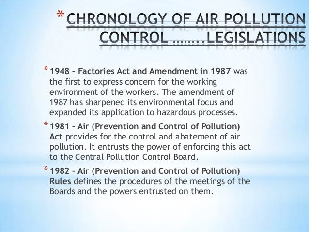 controlling pollution essay