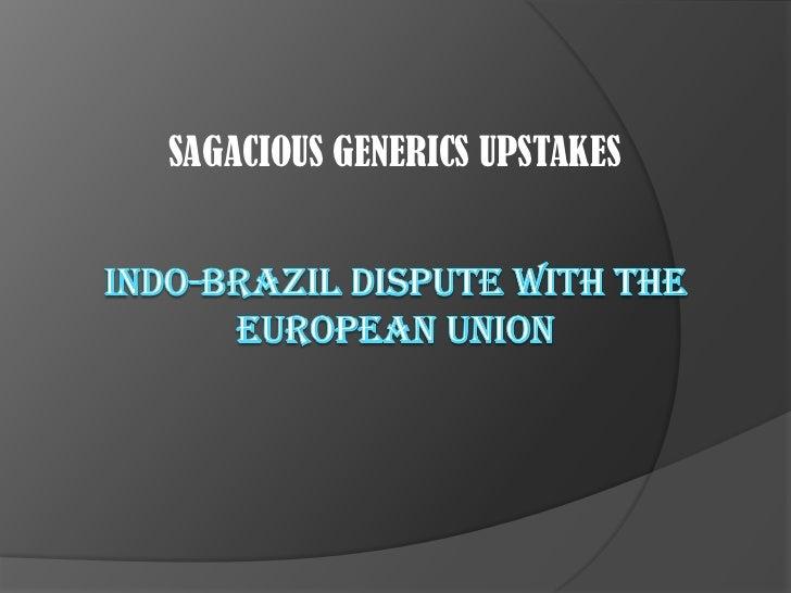 Indo Brazil-EU Dispute