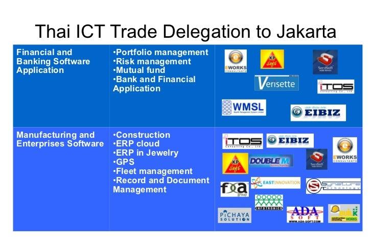 Thai Software Companies to Jakarta, Indonesia Aug 2011