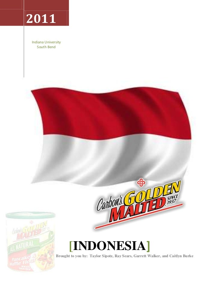 Indonesia   Carbons Golden Malted