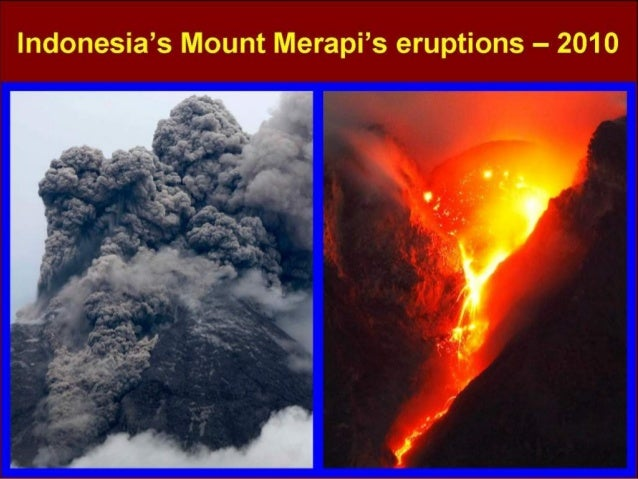 Indonesia - Mt. Merapi's Eruptions - 2010